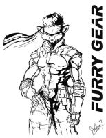 Furry Gear Solid. by Atariboy2600