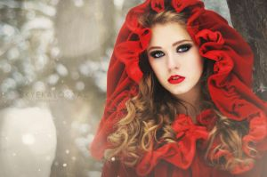 A red winter by SkyeKalosza