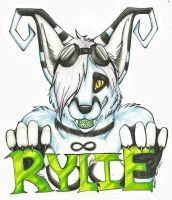 Rylie Badge Trade by SaltyPuppy