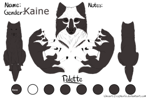 Kaine ref- Wolven Paradise by Kamaji16