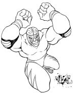 LUCHA CHARGE inks by CaziTena