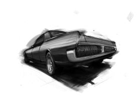 Muscle V8 design IV Cougar by daviaugusto