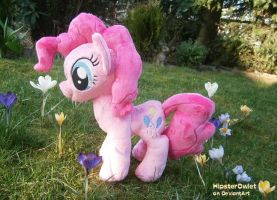 Fanmade Pinkie Pie Plushie by HipsterOwlet