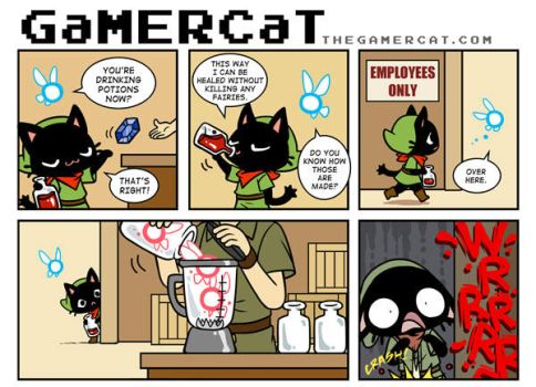 GaMERCaT - Potion Puree by celesse