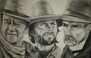 Guards of the Old West by shakingart