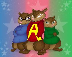 We're The Chipmunks by QueenDanny