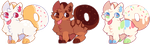 [OPEN] Donut Corgi Adopts by witchie-pie