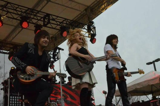 Band Perry - Downtown Greeneville Concert 1 by SchroTN
