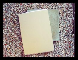 Gravel, tile and drawing pad by thespook