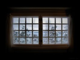 Northern Window by Pajunen