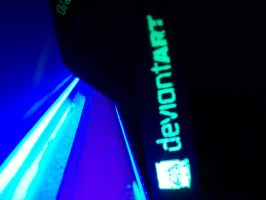 DA Glow-In-The-Dark Lanyard by Drake09