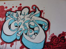 wildstyle grafitti by EAZY-ELY