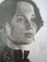 Katniss Everdeen from The Hunger Games by AreKCrisiS