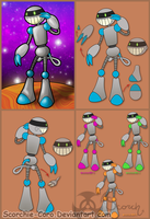 HappeeBot Supreme - Toy Design by Scorchie-Critter