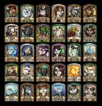 Fuzzy non-Humanoid 2014 Badges by Noxychu