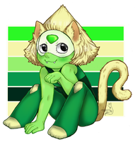 Kitten Peridot 2.0 by PsykoaktiveFantasi