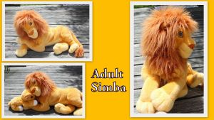 Jumbo adult Simba by Laurel-Lion
