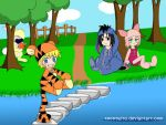 100 Acre Wood of Konoha by ToonTwins