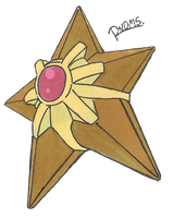 Kanto no. 120 Staryu by Randomous