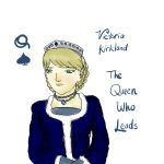 APH Cardverse - The Queen Who Leads by lupus-stellam