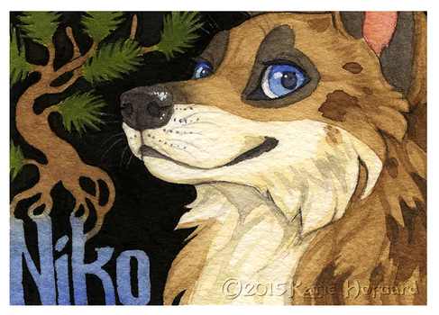 Niko Badge by KatieHofgard