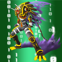 Digimon Frontier Tuned - Abogadimon by plzgaiasrebirth