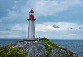 Point Atkinson Lighthouse by Violet-Kleinert