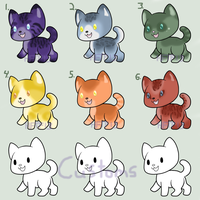 Rainbow Kitty Adopts :7/9 Open: by HopeForTheFuture13