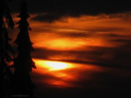 sun in flames by Mondglimmer