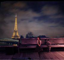 Liz in Paris - Unblurred by MarkDG