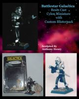 Classic Cylon Miniature by Malith2001