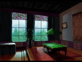 Billard Room 2 by ReneAigner