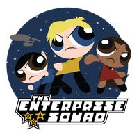 The Enterprise Squad: Powerpuff Style by Lumos5000