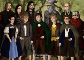 The Fellowship of the Ring by 2sisters34