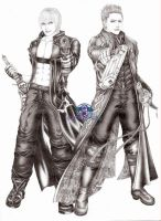 "DMC3 ""Jackpot"" by VergilSharky"