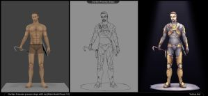 Process steps (Half Life 2, Gordon Freeman) by YeshuaNel