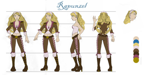 Rapunzel - Character Sheet by cheesefred