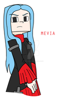 Minecraft: Story Mode - Mevia by PrettyXTheXArtist