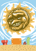 THE ANGRY SUN IS NOT SO ANGRY by Brinstar
