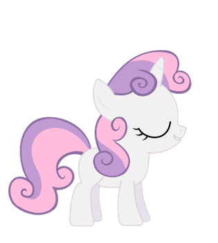 Proud Sweetie Belle by Bronyponygal