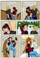 Resident evil comics sample 2 by Martin-Redfield