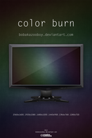 Color Burn HD Wallpaper Set by bobakazooboy