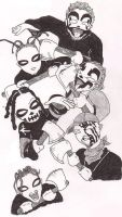 Juggalo Family by behindthemirror