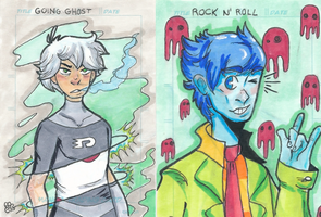 Sketch Cards by MsMoores