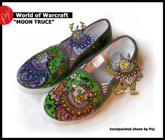 WoW shoes - 'Moon Truce' by Poj5