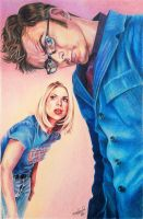 The Doctor and Rose Tyler by Miranda-McDiarmid