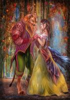 Beauty and the Beast by BramLeegwater