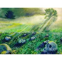 Morning Time Field Skull Party by 5-3-7