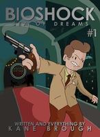 Bioshock: Sea of Dreams #1 Cover Art (FANMADE) by KanesTheName