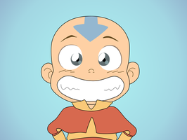 Aang by v1ch